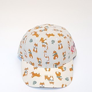 Follow Your Love Printed Baseball Cap White Shiba Inu #老帽#情人节##礼物#老帽