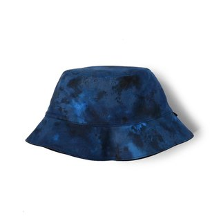 Ink blue rendering double-sided fisherman hat