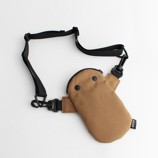 The creature iPhone case small bag Mame-sagari 2018 Light Brown