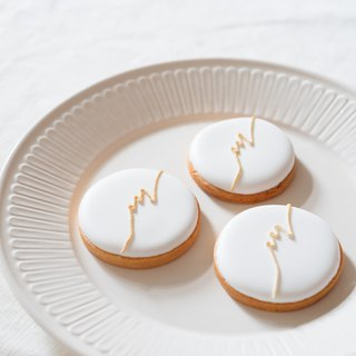 Newcomer LOGO Wedding LOGO Frost Cookies