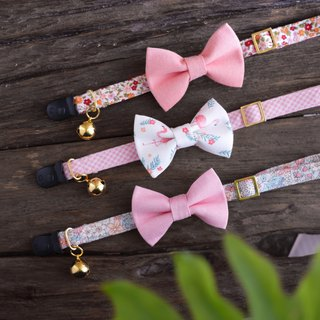 Cat Collars Your Boyfriend Flamingo Set