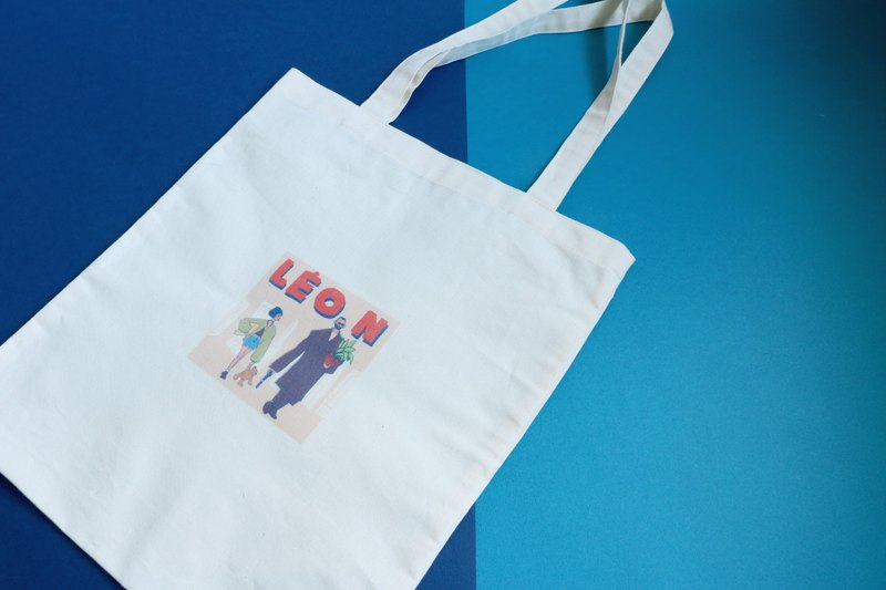 Illustration environmental protection bag movie illustration this killer is not too cold