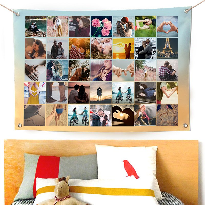 客製化照片掛布 布幔
