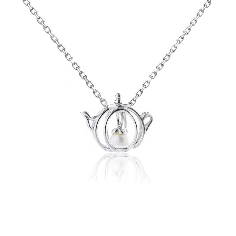 [brilliantia] 10K Jane Teapot - Necklace - (PZ0029)