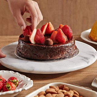Marble Cake Rotary 30cm [Low-end] Baking Tools / Shooting Jewelry Display Turntable / Flower Art / Turntable