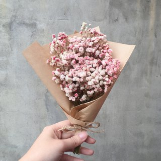 Gradient pink starry sky bouquet