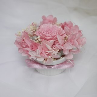 ♥ ♥ Flower daily Amaranth pudding cup / eternal flower / gift exchange Christmas gifts