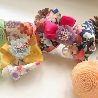 Japanese-style zephyr cherry blossom hair clip (paired selling group 2)