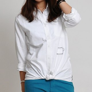 Women Casual Soft Denim Dress Ladies Dress Blouse-Llight Blue
