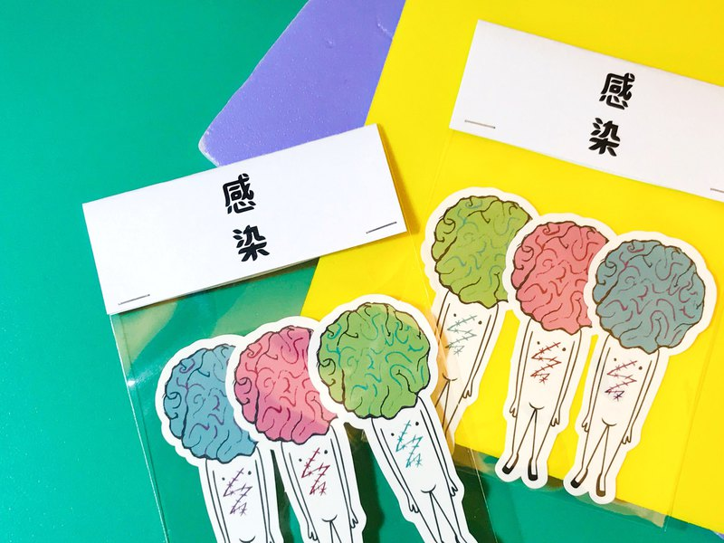 Thin Organs - Combination / Stickers