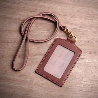 [NS handmade leather goods] manual document set, identification card, set of documents folder (free printing)