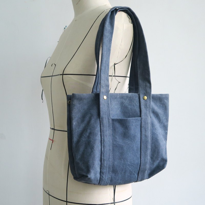 Mini Cup - Outing Work Canvas Bag | Short Handle
