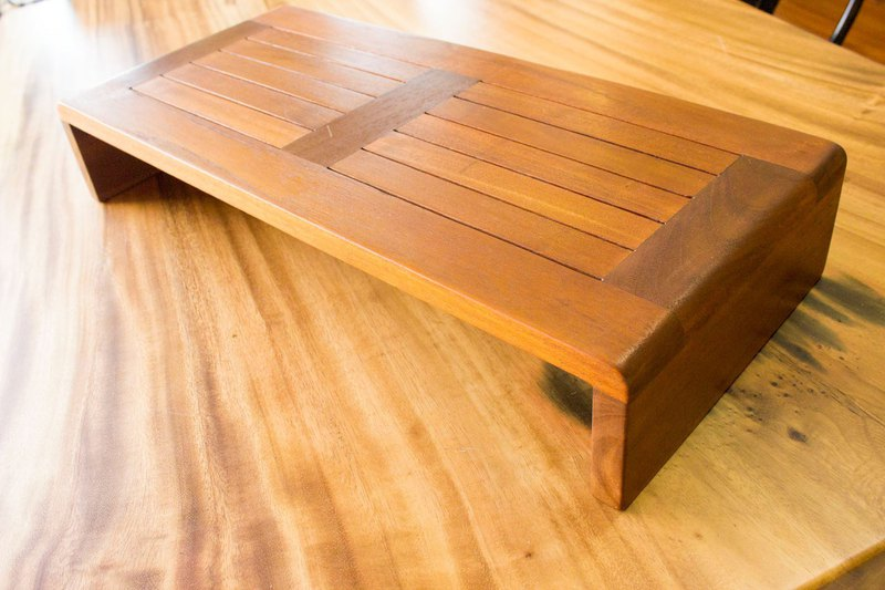 [DECOBALI 德客家俬] LCD stand solid wood heightening