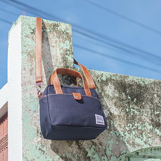 mini bag - navy blue