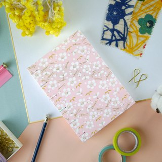 Sakura Powder - A5 manual notebook / PDA / diary / photo album / log / gift