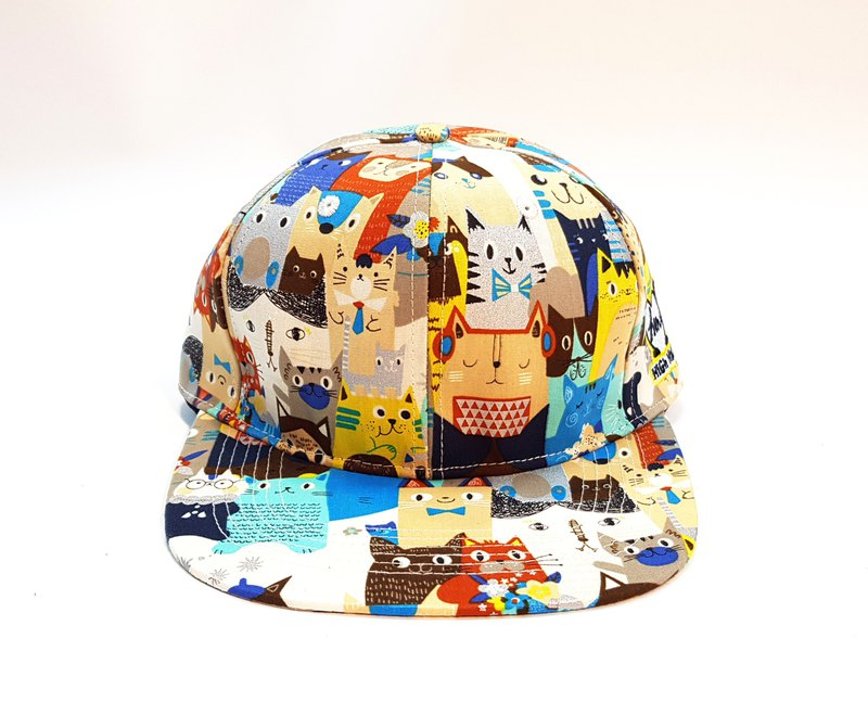 [HiGh MaLi] Printed Baseball Cap-City Zoo Area A # Present # Shade