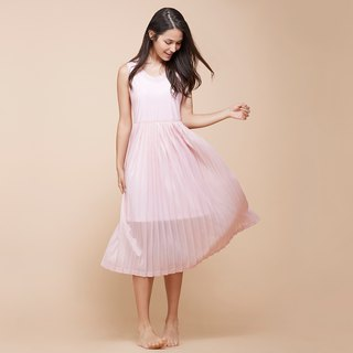 [MACACA] Waltz Dress - BQE8093 Pink