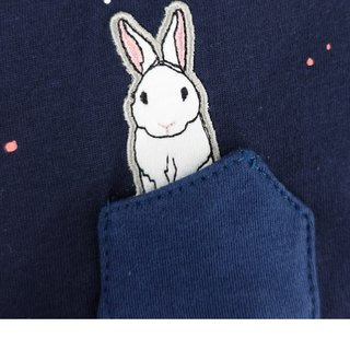 Urb. hiding rabbit / pocket dress