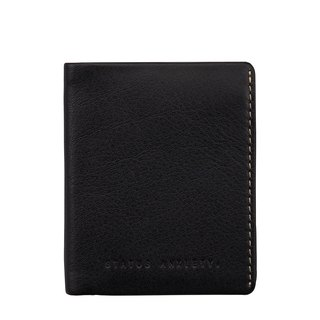 EDWIN Business Card Holder _Black / Black