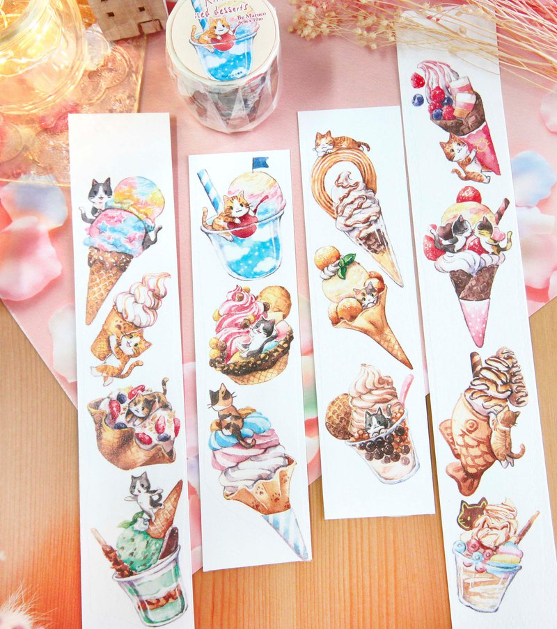 Kitty ice product-4cm paper tape
