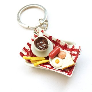 Keychain Set 2 breakfast