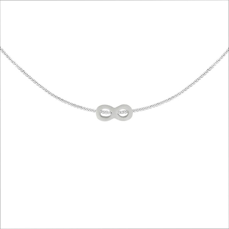 Infinite Lucky Steel Necklace-Steel