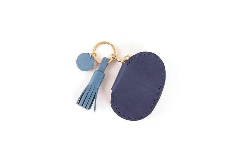 Hsu & Daughter Egg Zipper Key Case [HDB1061]