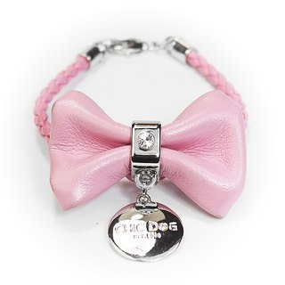 CHIC DOG Single diamond bow