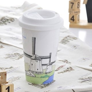 JB Design I am not a paper cup ~ Dutch windmill