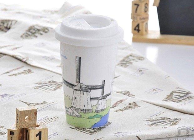 JB Design  我不是紙杯~ 荷蘭 風車
