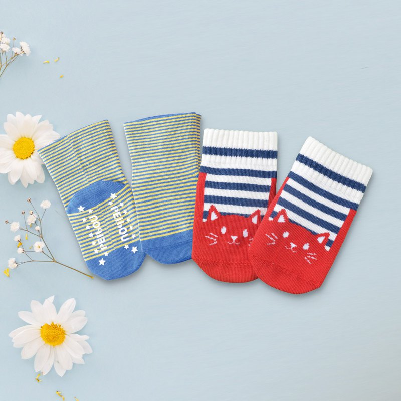 78% US SUPIMA Cotton Cat Baby Socks