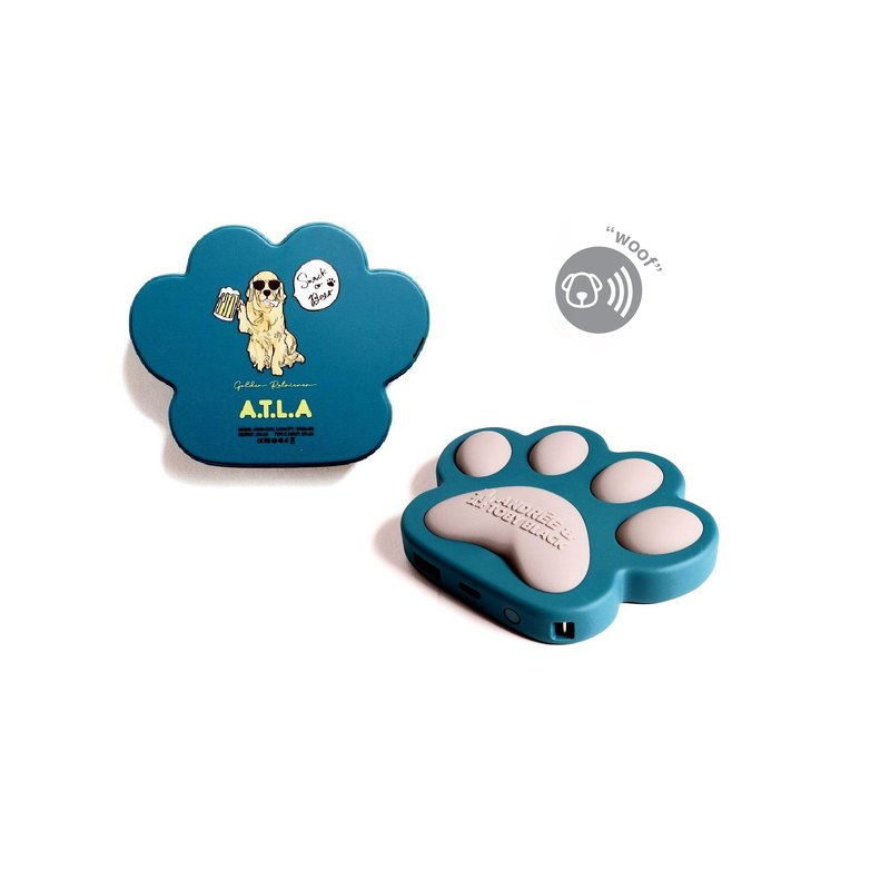 A.T.L.A Power bank (press the PAW gives WOOF sound or dog sings a song)