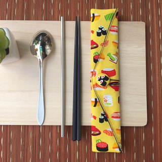 Adoubao-Chopsticks Setware Set - Fresh Yellow & Sushi