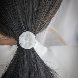 Wave round hair circle _ pure hand made work 002