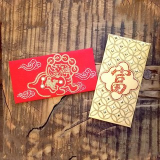 "GFSD】 【bright red envelopes bag - ""Rich Series 二 二 into a group of two】"