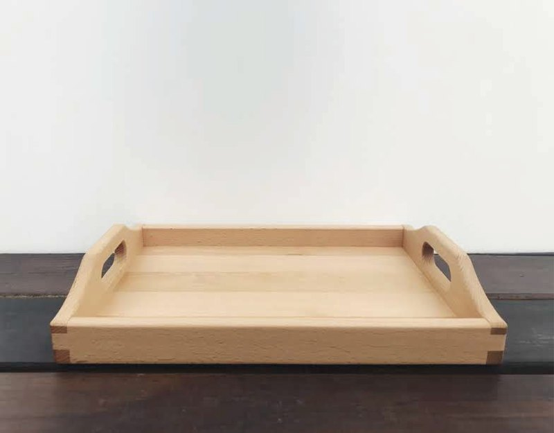 Hand made log tray / plate | taste home
