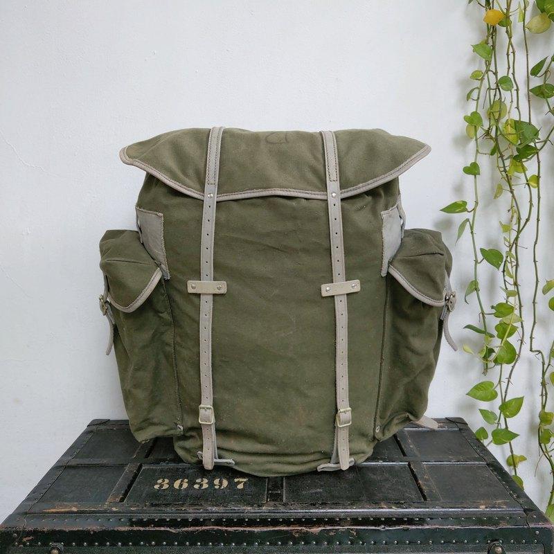 挪威_軍用後背包(帆布)_R003_2
