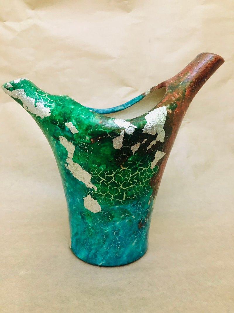 中式造型花器  花瓶 陶製 喬遷禮 新居禮 可客訂【限量現貨款】
