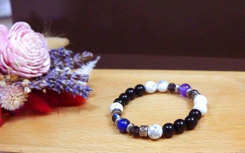 G2 Light you up retro imitation marble bracelet