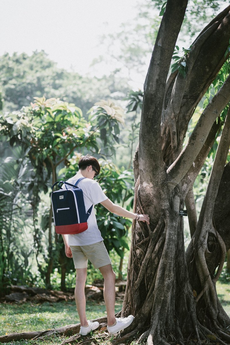 SUPER BACKPACK Navy/Red