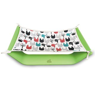 Comet Earth Office - Pet Sleeping Hammock - Apple Green (with a piece of sleeping cloth)