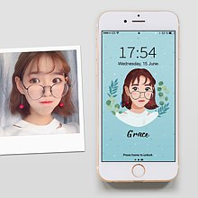 Customized character pet painting / electronic image file (card wind)