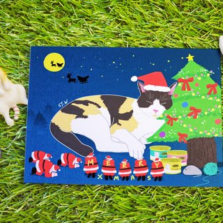 Christmas Cards Cat Wong xmas