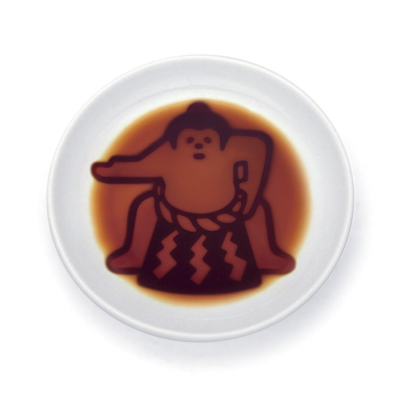Layer sauce dish - sumo player