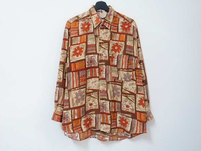 Awhile for a while | Vintage long sleeve shirt no.34