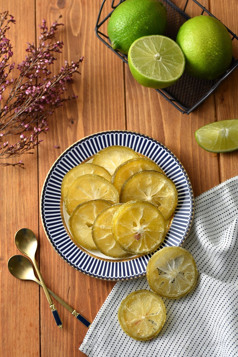 [Happy Lime] Lemon Dried Fruit / Natural / First Love Taste / Handbag / 1 Pack