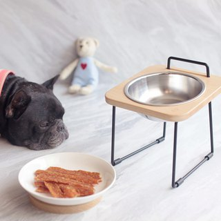 Goody Bag - Log Pet Holder Bowl Holder
