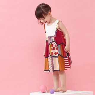 Ángeles - Cut Shoulder Print Dress (2-6Y)