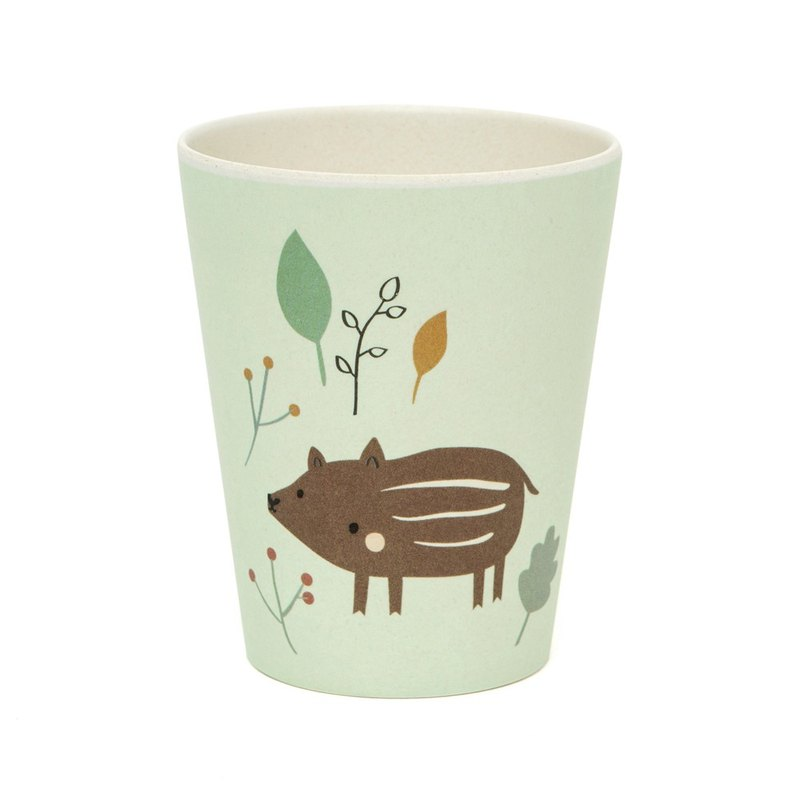 [Out of print out] Dutch Petit Monkey Bamboo fiber cup - small wild boar