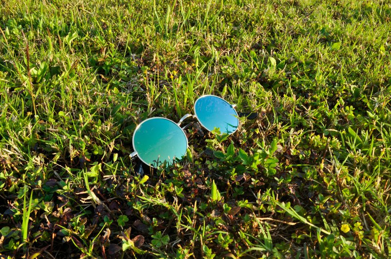 Sunglasses Polarized│Vintage Round│Green Lens│UV400 Protection│2is OriG